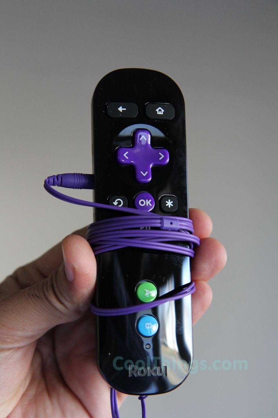 Roku Box: Roku 3 Remote Comes With Built-In Headphone Jack