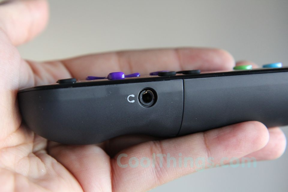 Roku 3 Remote Comes With Built In Headphone Jack