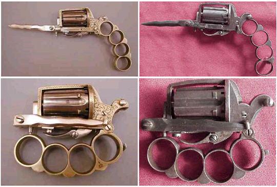 Apache Pistol 19th Century Gangster Bling