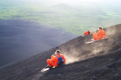 volcanoboarding