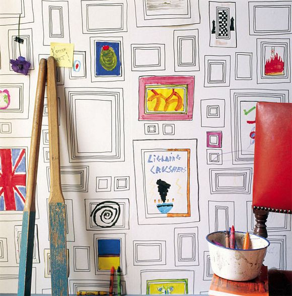 Customize Your Walls With The Frames Wallpaper