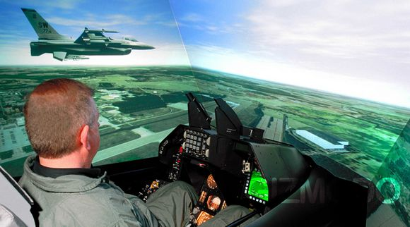 l 3 link s simusphere the world s most accurate flight simulator. Black Bedroom Furniture Sets. Home Design Ideas