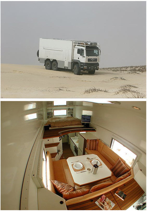 Stealthy Luxury Mobile Home Disguises Itself As A Dump Truck