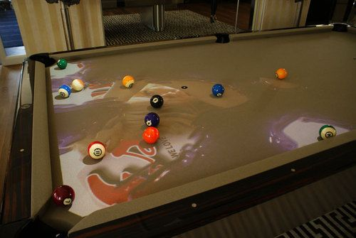 Obscura Cuelight Adds Special Effects To Playing Pool
