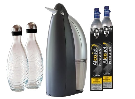 Penguin Home Soda Maker Never Run Out Of Fizzy Drinks Again