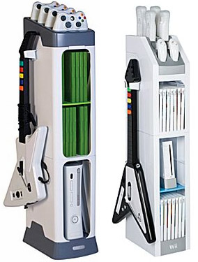 Xbox And Wii Gaming Towers Look More Like Gaming Shrines