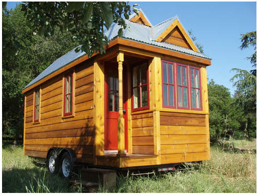 Tumbleweed houses let you ditch the trailer buy an for Tiny house to buy