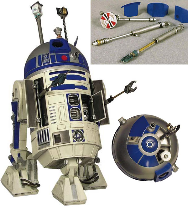 Gentle Giant S R2d2 Statue Comes With Actual Removable