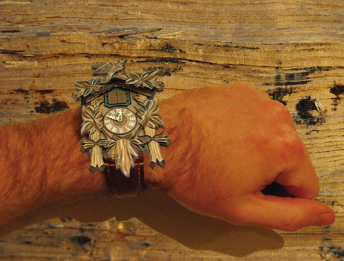 I m going cuckoo for the cuckoo watch - Cuckoo watches ...