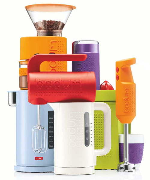Cool Kitchen Appliances: Bodum's Bistro Line Of Appliances Look Rugged And Cool