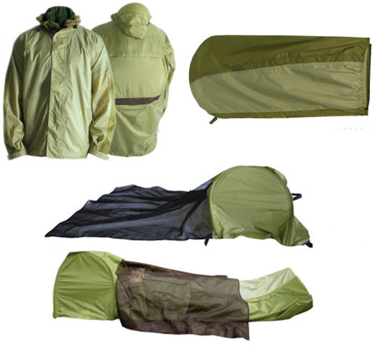 JakPak Jacket Is A Sleeping Bag, Emergency Shelter And A Tent