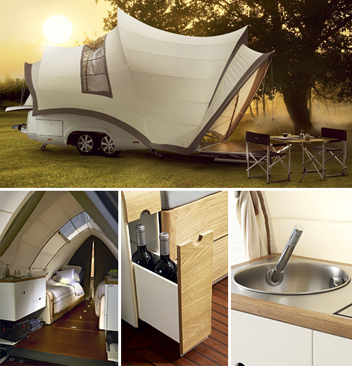 Opera Pop Up Camper Makes Outdoor Camping A Genuine Luxury