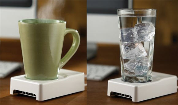 Desktop Beverage Cooler ~ Usb desktop cup cooler and warmer