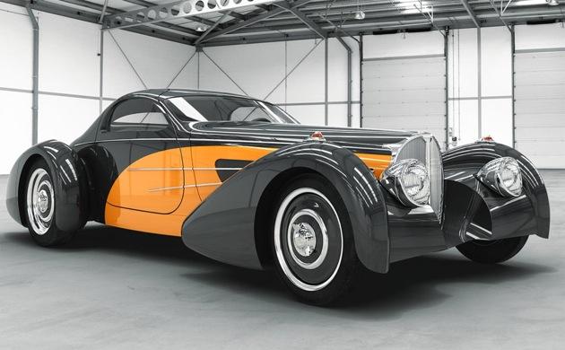 """Delahaye """"Bella Figura"""" Bugnotti Coupe: A Classic Reimagined"""