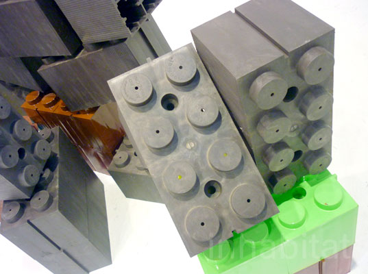 Ecomat S Lego Like Blocks Want To Replace Your Walls