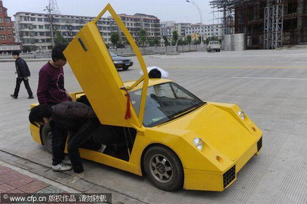 Chinese Man Counterfeits Lamborghini Kind Of