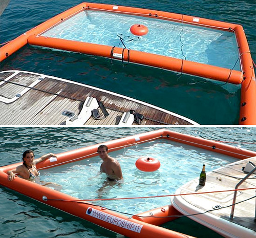 Magic Swim Inflatable Pool Turns The Ocean Into Your Personal Jacuzzi