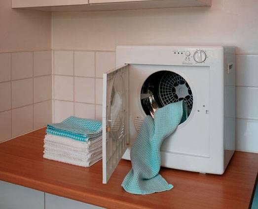 Light Laundry Use A Mini Tumble Dryer