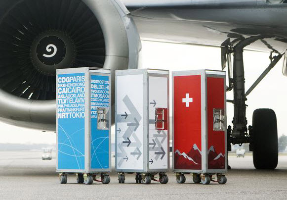 Bordbar Turns Airplane Trolleys Into Stylish Storage