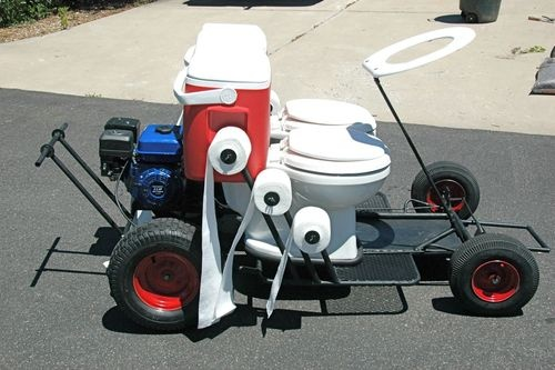 Go Kart With Toilet Seats And Beer Cooler Tanks Need We Say More