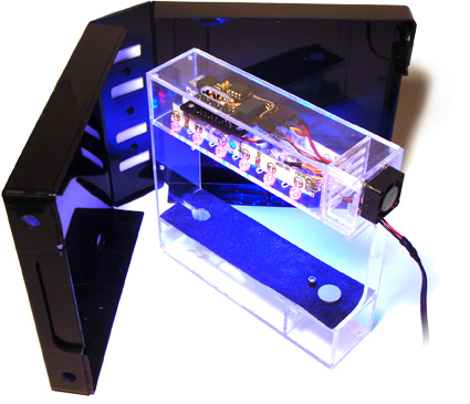 Grow a garden in your cubicle with the miniature labbox grower for Cool stuff for your cubicle