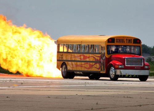 Boys Don T Hide Behind The School Bus Or It S Gonna Torch You