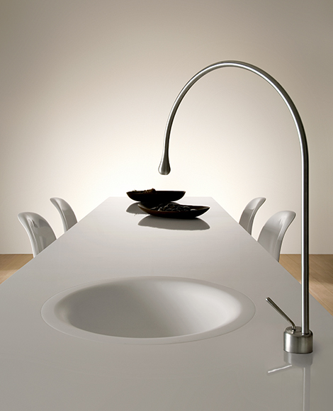 gessi goccia concept puts a kitchen faucet in your dining gessi led kitchen faucet new just color kitchen faucets