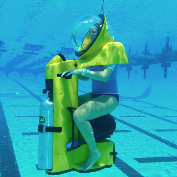 Hydrobob Is An Underwater Scooter Ride