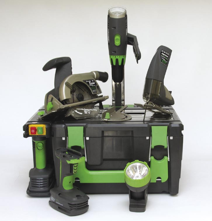 power8 workshop gets you eight power tools in one box. Black Bedroom Furniture Sets. Home Design Ideas