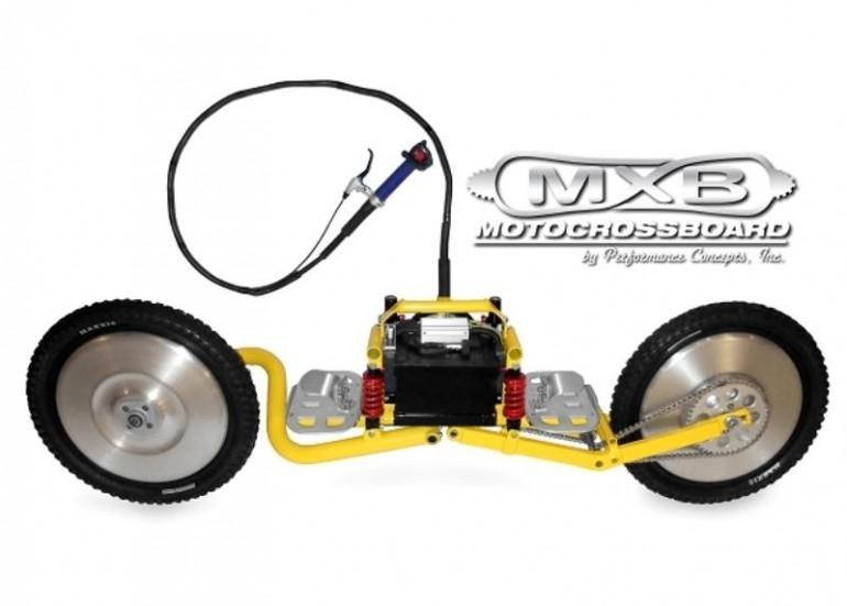 mxb shocker is a motorized sport board for the off road. Black Bedroom Furniture Sets. Home Design Ideas