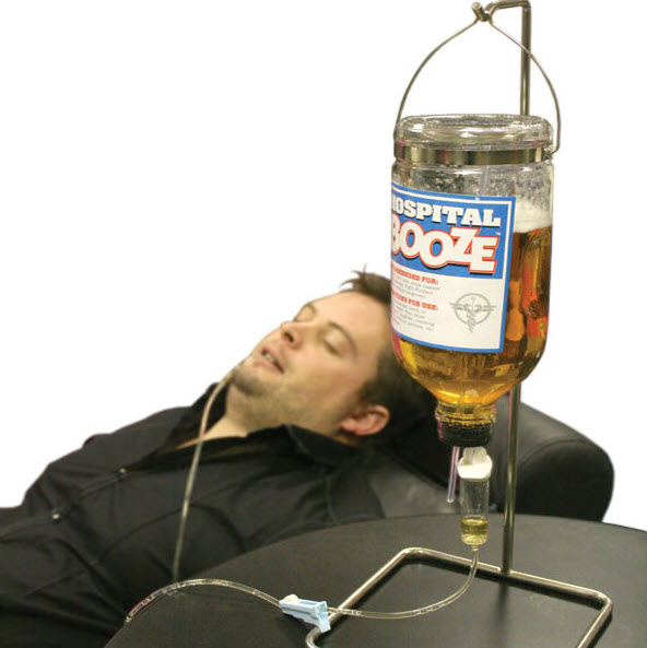 Hospital Bedside Booze Drip Lets You Consume Your Alcohol ...