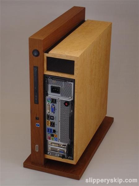 Level Twelve Case Mod Hides PC Under Sleek Wooden Boxes