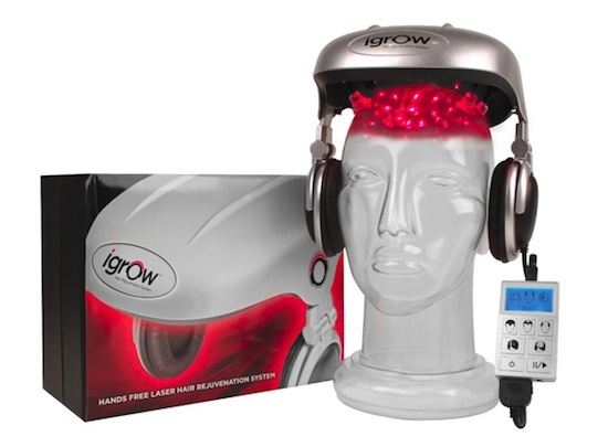 Igrow Laser Hair Treatment Helmet Wants To Repopulate Your