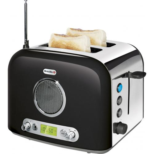Breville Radio Toaster Puts A 50s Style Radio On The Face
