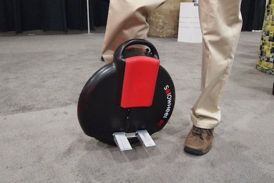 Solowheel A 20 Lb Unicycle You Can Carry Like A Bag