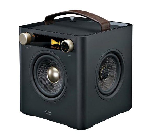 Tdk Sound Cube Is A Square Boombox