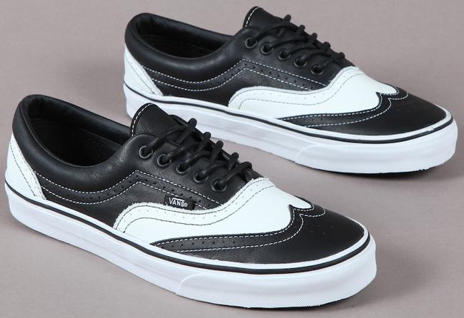 Black Wingtip Tennis Shoes