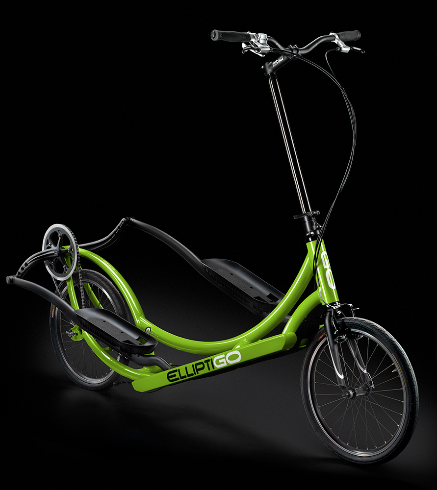 Elliptical Bike For Outside: ElliptiGO 3C Is A Three-Speed Elliptical Machine For The Road