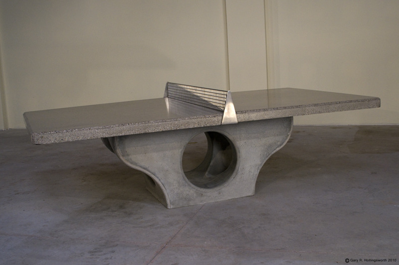 Play Ping Pong On Concrete Henge Tables