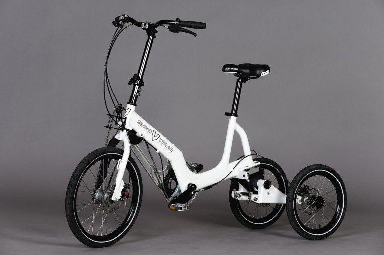 swingtrike is a tilting tricycle for slow cornering riders. Black Bedroom Furniture Sets. Home Design Ideas