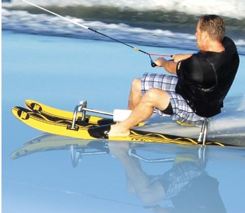Waterskiing Chair For When You Are Too Tired To Stand