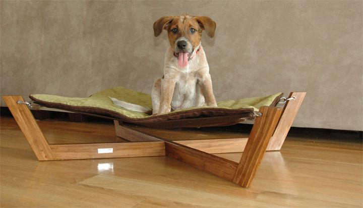 bambu pet hammock gives your dog a stylish bed On bambu pet hammock
