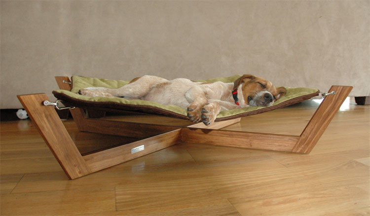 Bambu Pet Hammock Gives Your Dog A Stylish Bed