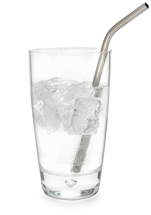 Sip Hard With A Titanium Straw