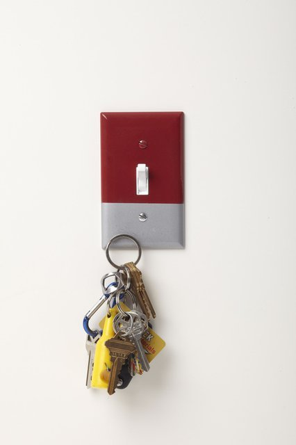 Magnetic Switch Cover Lets You Stick Your Keys Right By