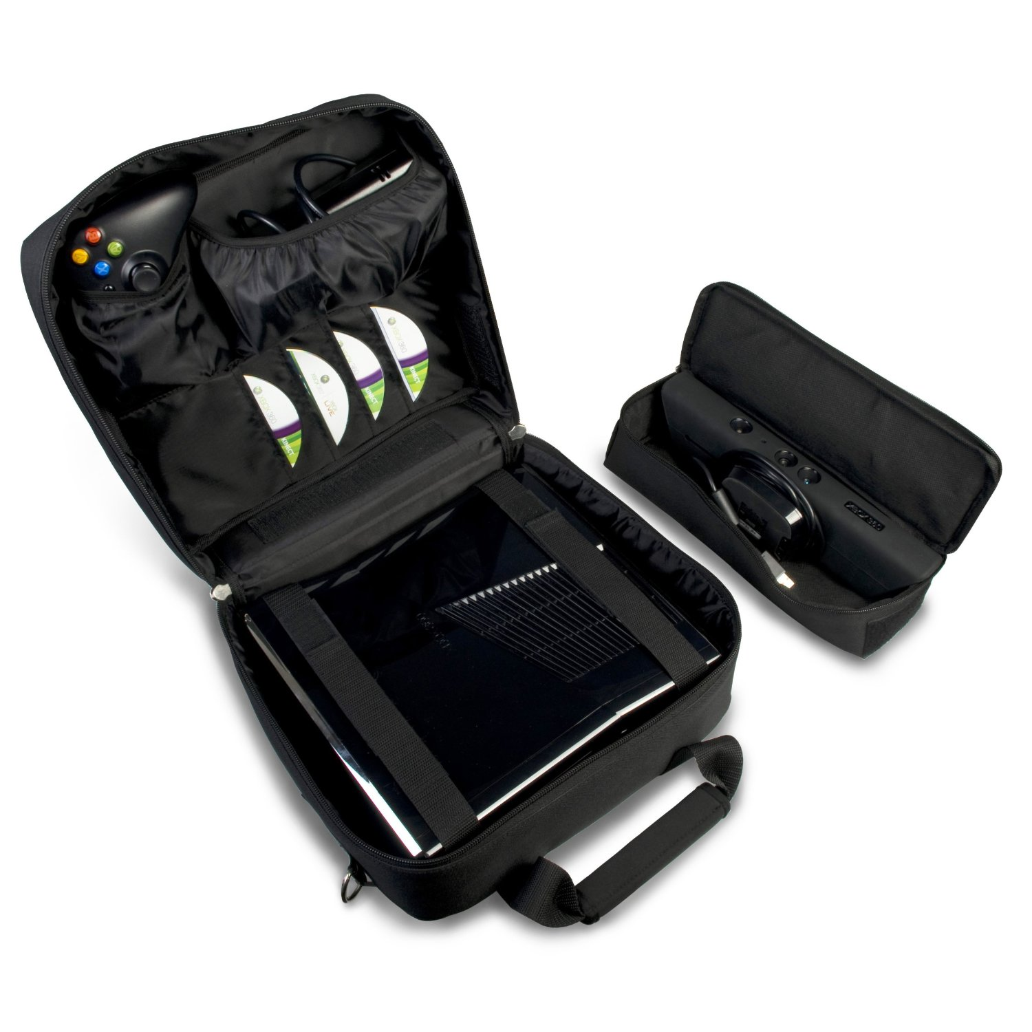 Xbox 360 Travel Case With Space For Kinect, Controllers ...