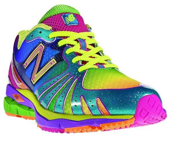 Bright Colored New Balance Shoes