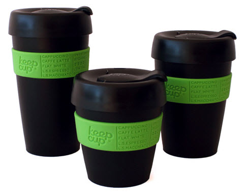 Keepcup is a reusable commuter coffee cup - Commuter coffee mug ...
