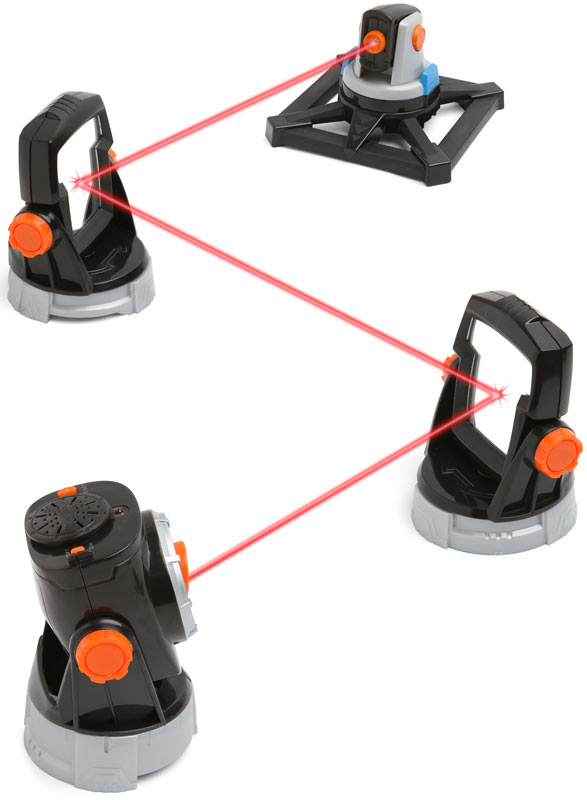Cool Spy Toys : Spynet laser trip wire turns your cubicle into a secure fort