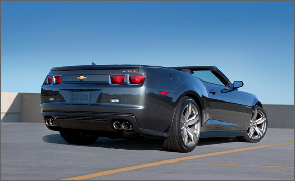2013 camaro zl1 convertible chevy s most powerful drop. Black Bedroom Furniture Sets. Home Design Ideas